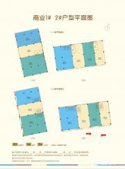 和昌中央城邦商业1#、2#户型图116㎡