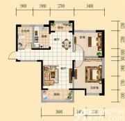 和顺新天地两室户型2室2厅90㎡