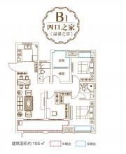 和昌中央悦府B13室2厅109㎡