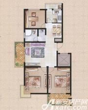 东一城GH户型3室2厅112.45㎡