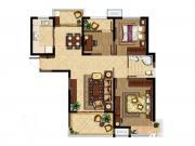 深业华府C2户型 3室2厅1卫3室2厅107.47㎡