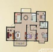 京都公馆F户型4室2厅2卫4室2厅150.3㎡