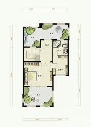 托斯卡纳小镇C户型第三层1室1厅216㎡