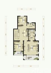 托斯卡纳小镇C1户型第二层3室1厅175㎡