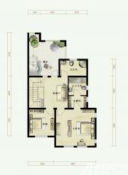 托斯卡纳小镇C3户型第二层2室1厅160㎡