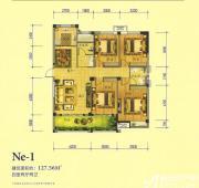 万基大观天下Ne14室2厅127.56㎡