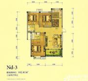 万基大观天下Nd33室2厅102.81㎡