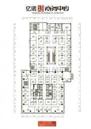 亿诺商务中心5层平面图3679.208㎡