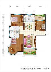 碧桂园滨湖城高层A3室2厅127㎡
