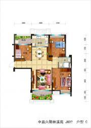 碧桂园滨湖城高层C3室2厅111㎡