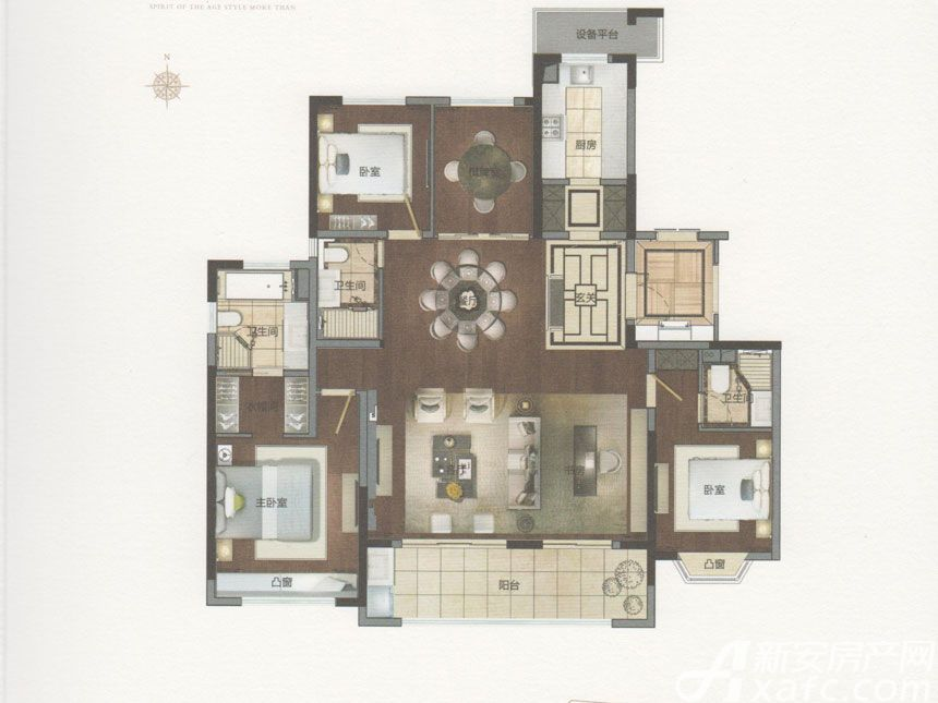 绿地御徽御珑5室2厅183平米