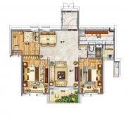 碧桂园·东至首府YJ118—B户型3室2厅108㎡