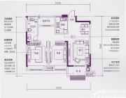 加侨悦湖公馆D1户型3室2厅96㎡