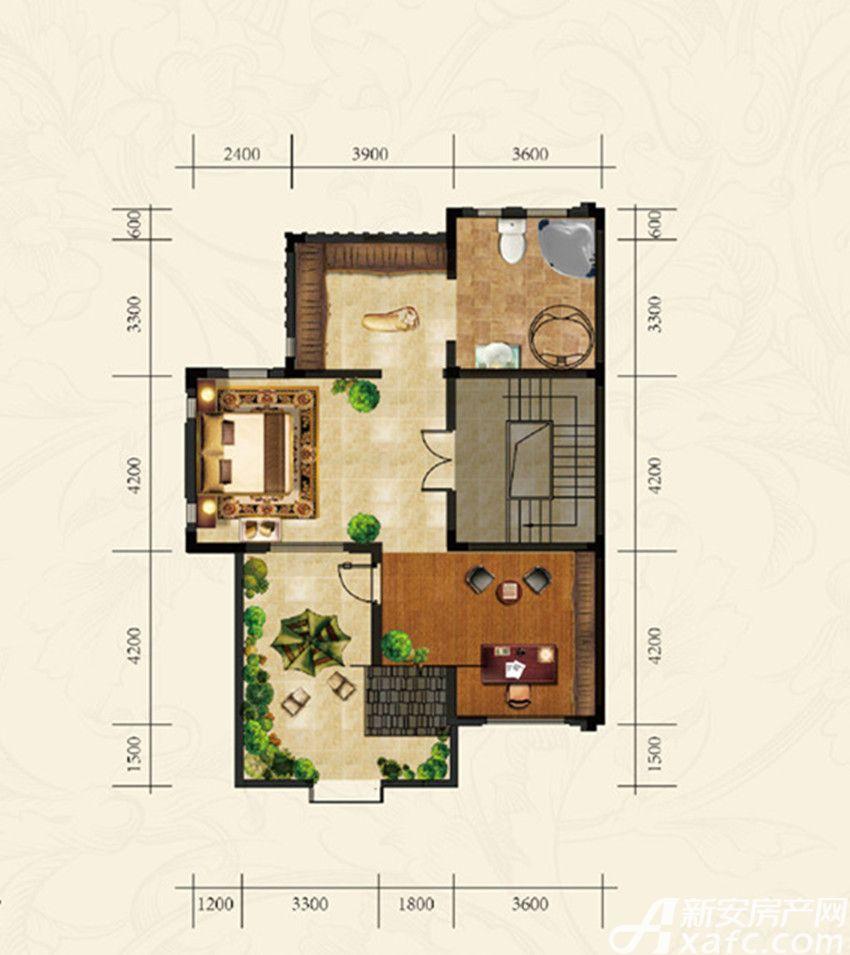 高速云水湾双拼SP1三层1室1厅319.42平米