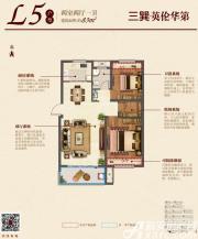 三巽英伦华第(明光)L52室2厅83㎡