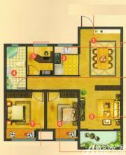 新华联梦想城B33室2厅88.76㎡
