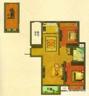 新华联梦想城D2户型2室2厅85㎡