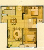 新华联梦想城J2户型2室2厅73㎡