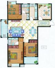 紫金华府D14室2厅142.65㎡