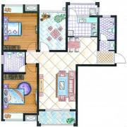 紫金华府D23室2厅112.27㎡