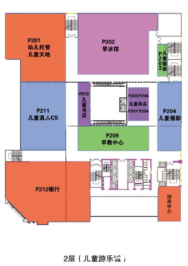 众悦广场商铺2层