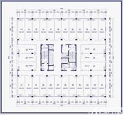 尚泽大都会商办空间3-7层户型1室2厅46㎡