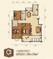 地矿龙山湖苑C13室2厅138㎡