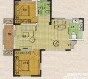 金地丽景A\'户型2室2厅93.11㎡