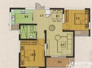 金地丽景B户型2室2厅79.31㎡