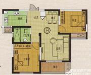 金地丽景B'户型2室2厅82.21㎡