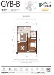 荣盛金盆湾GYB-B1室1厅65㎡