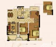 奥园城市天地A1#B户型3室2厅109㎡