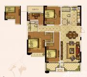 奥园城市天地A2#3#A户型4室2厅138㎡