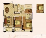奥园城市天地A2#3#B户型3室2厅107㎡