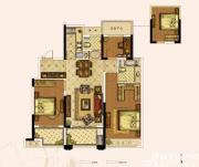 奥园城市天地A5#B户型3室2厅110㎡