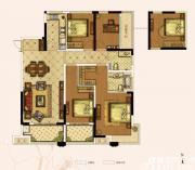 奥园城市天地A5#C户型4室2厅140㎡