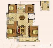 奥园城市天地A6#E户型4室2厅161㎡