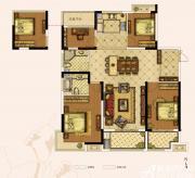 奥园城市天地A7#A户型4室2厅146㎡