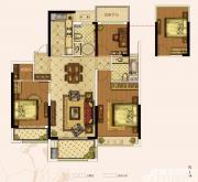 奥园城市天地A7#B户型3室2厅116㎡
