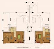 奥园城市天地洋房地下室户型