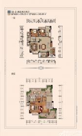 宿州院子D1-34室2厅138.12㎡
