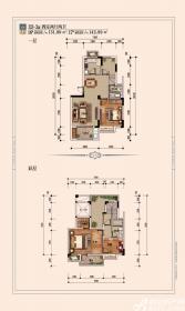 宿州院子D3-3a4室2厅131.99㎡