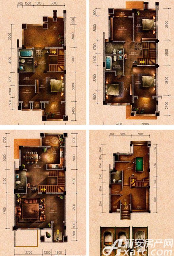 原树提香H2户型9室3厅272.47平米