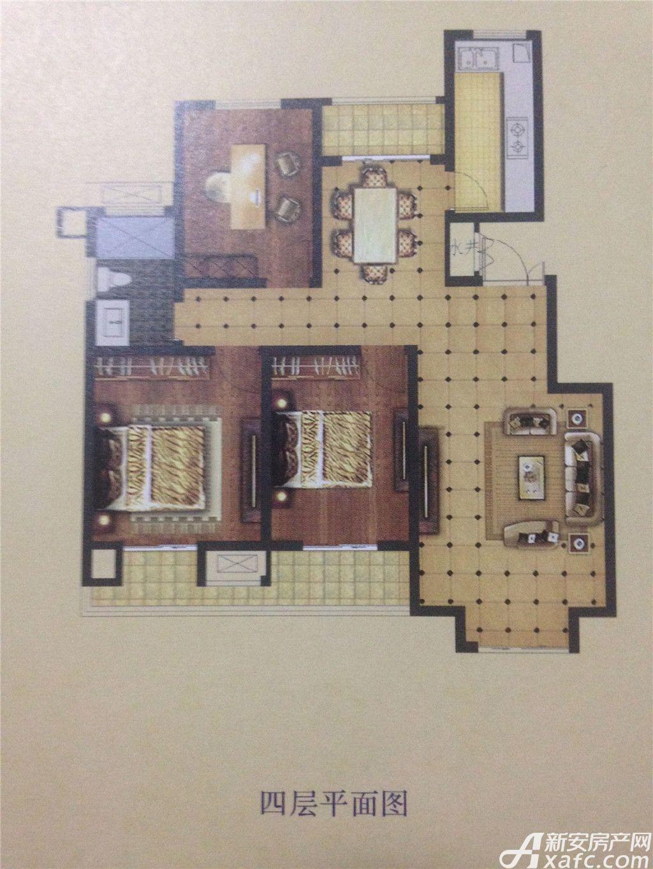 天景庄园A3室2厅108平米