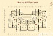 恒大城(19#-1)01户型3室2厅110㎡