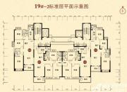 恒大城(19#-2)04户型3室2厅110㎡