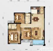 融邦领秀国际C户型3室2厅105㎡