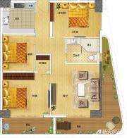 东誉城A1户型3室2厅110㎡