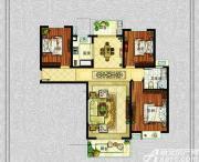 中冶钟鼎悦城M1户型3室2厅123.31㎡
