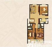 宝龙华庭H户型3室2厅138.55㎡